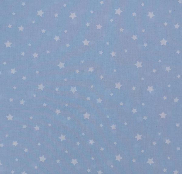 Mini stelle bianche fondo azzurro