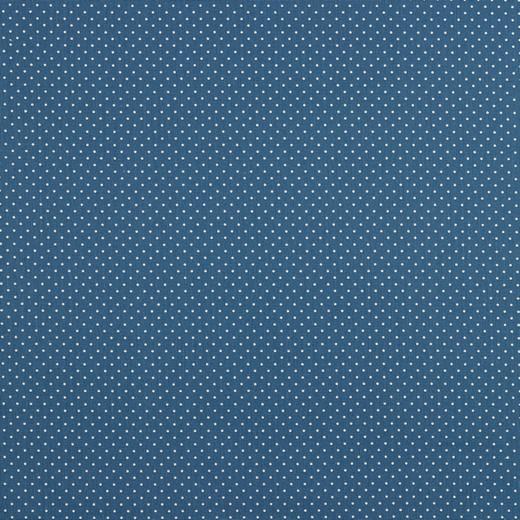 Mini pois bianchi fondo blue