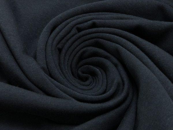 Jersey Tinta unita nero