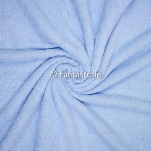 tessuto spugna azzurra