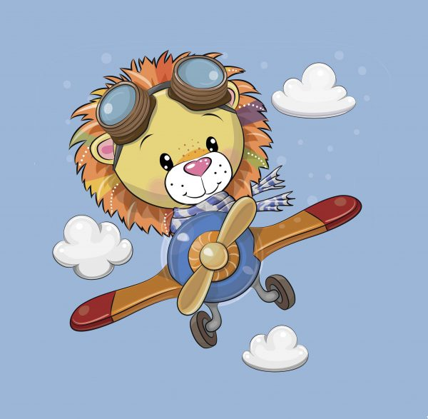 100x75 Leone aviatore