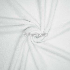 tessuto spugna bianca