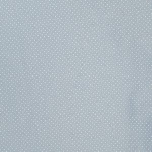 Mini pois bianchi fondo baby blu