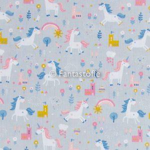 Piccoli unicorni grigi