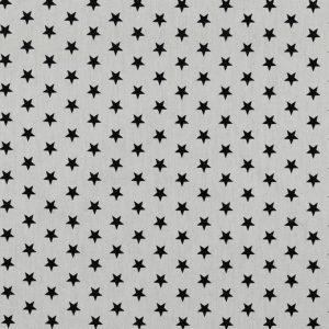 Petit Stars nere fondo bianco
