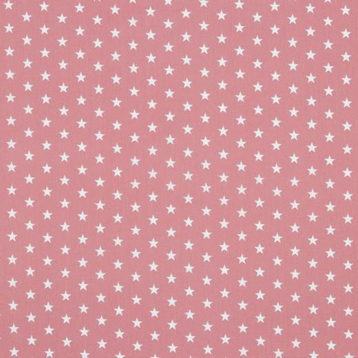 Petit Stars bianche fondo rosa cipria