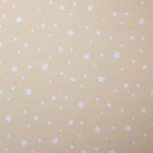 Mini stelle bianche fondo giallo chiaro