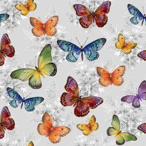 Farfalle grigie