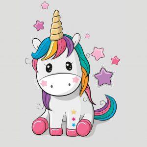 100x75 Unicorno grigio