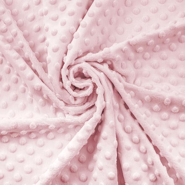Minky rosa baby