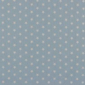 Petit Stars bianche fondo baby blue