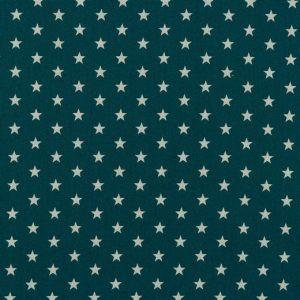 Petit Stars bianche fondo petrolio