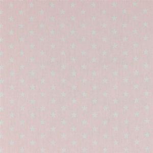 Petit Stars bianche fondo rosa tenue
