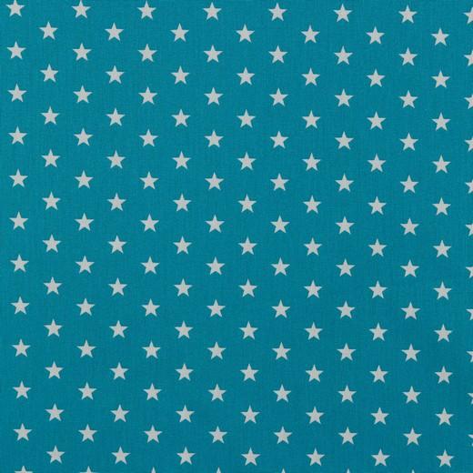Petit Stars bianche fondo acqua marina