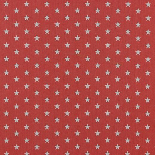 Petit Stars bianche fondo corallo