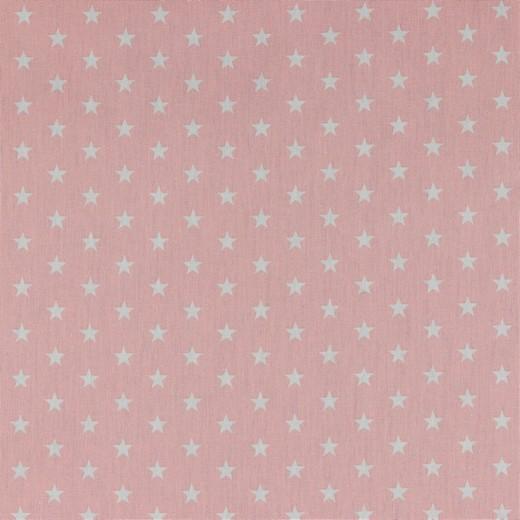 Petit Stars bianche fondo rosa pastello