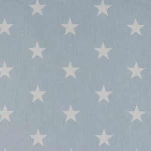 Stars bianche fondo baby blue
