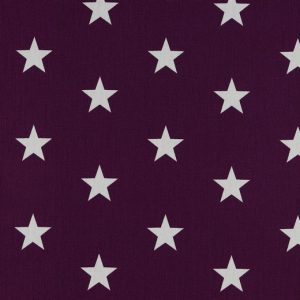 Stars bianche fondo violetto