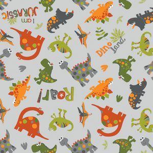 Jersey Dino Roarr grigio