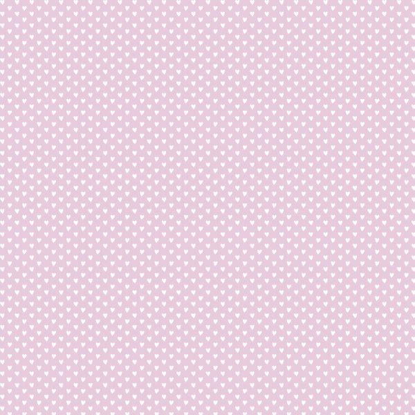Cuoricini fondo lilla