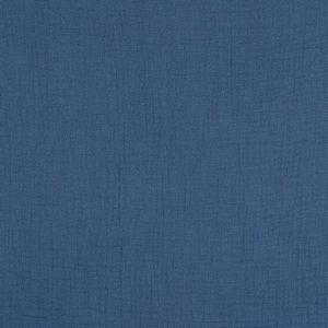 Mussola tinta unita jeans