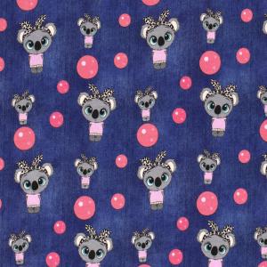 Jersey koala bubble navy