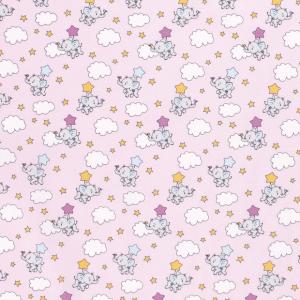 Elefantino pink stelle