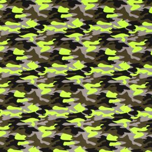 Jersey mimetico verde fluo