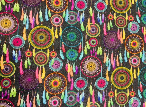 acchiappasogni colorati