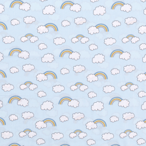 Clouds baby blu