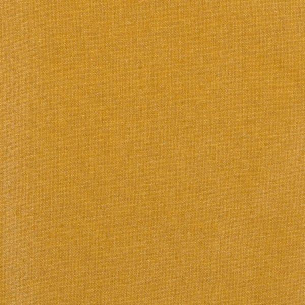 Cotone impermeabile spalmato mostarda