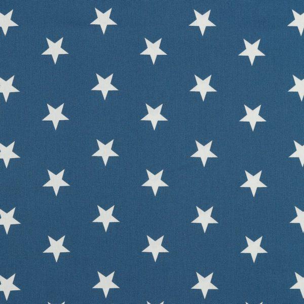 Stars bianche fondo blue