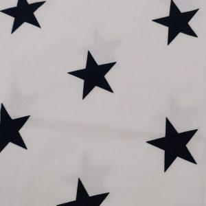 Felpa pesante stars navy fondo bianco