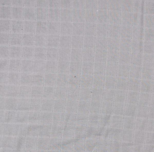 Mussola trama a tela tinta unita grigio chiaro