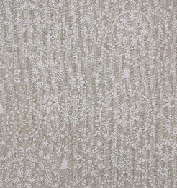 Tela di cotone Lurex deco - Natale